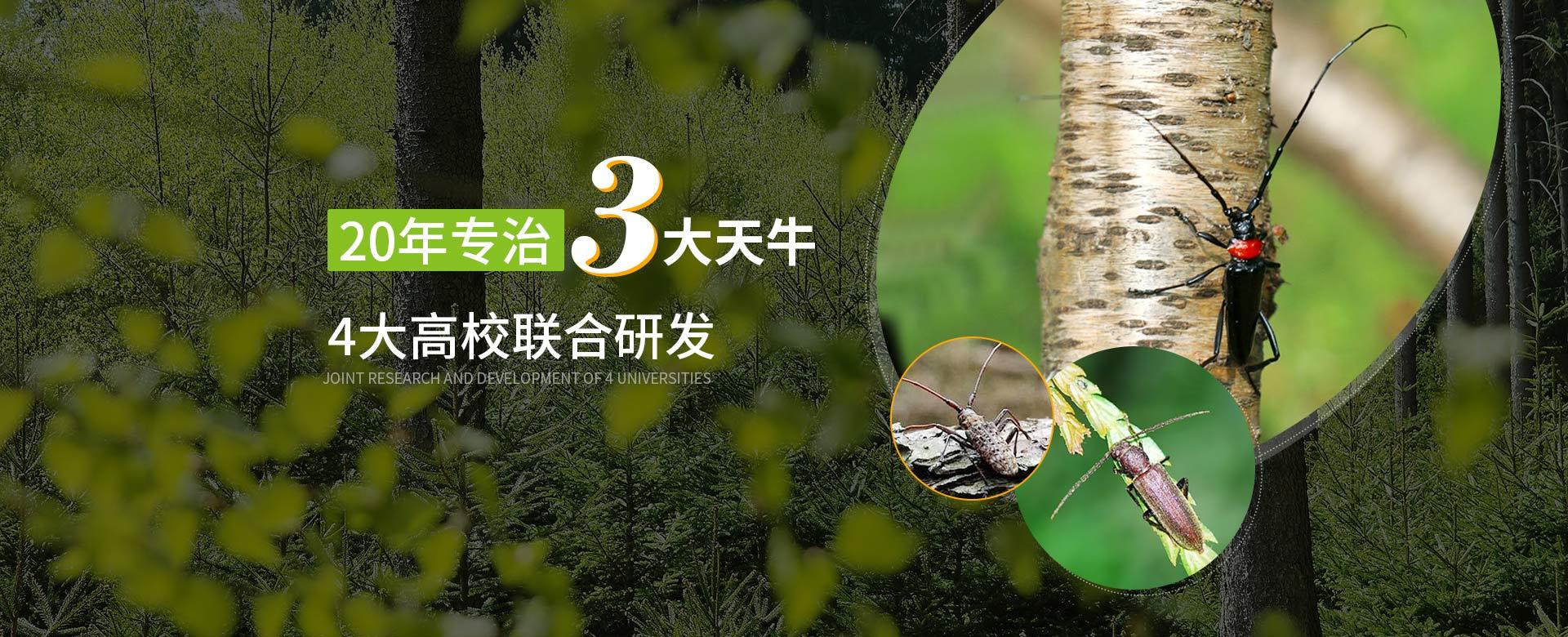泽农生物20年专治3大天牛